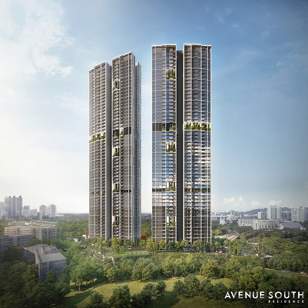Avenue South Residence by UOL Also Developer of The WaterGardens at Canberra EC by UOL Kheng Leong